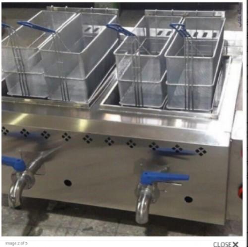 دیگ چلوپز بخارپز صنعتی تیان مدل مکعب و استوانه
