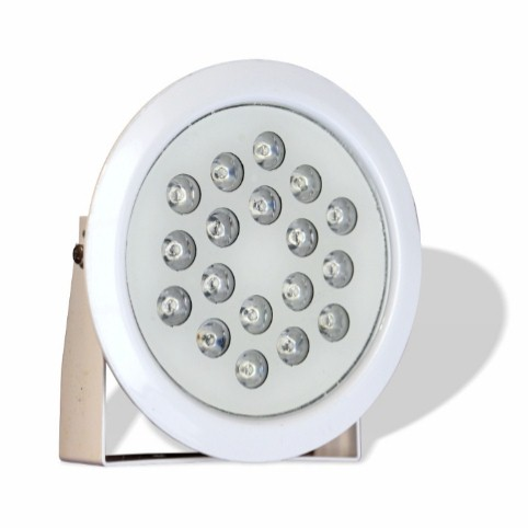 چراغ پایه دار ضد آب مولتی کالر مدل 18REMP