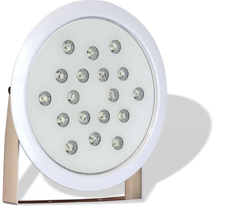 چراغ پایه دار ضد آب تک رنگ مدل 18REP